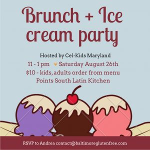 Cel-Kids Ice Cream Party @ Points South Latin Kitchen   Baltimore   Maryland   United States